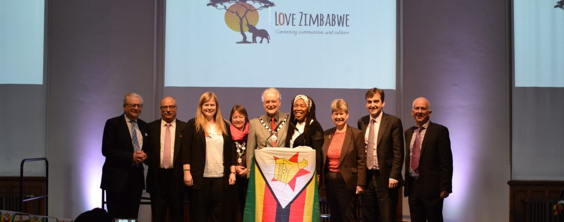 Love Zimbabwe student event at the Senedd